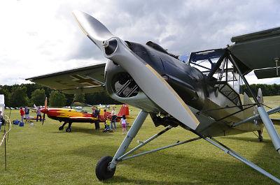 Gastflüge beim Flugplatzfest in Eudenbach