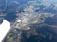 Duo über dem Nürburgring