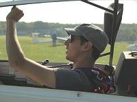 Björn besteht seine Pilotenprüfung